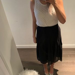Aritzia Skirts - Babaton Skirt with Pleated detail at the bottom